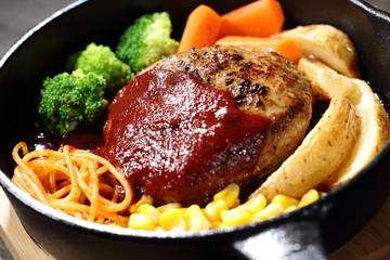 ハンバーグ Salisbury steak