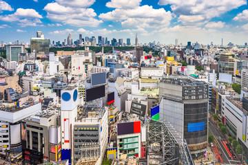Shibuya, Tokyo, Japan cityscape.