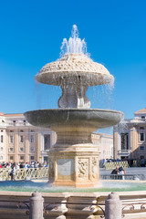 Autocollant pour porte Fontaine fountain at st peter's square