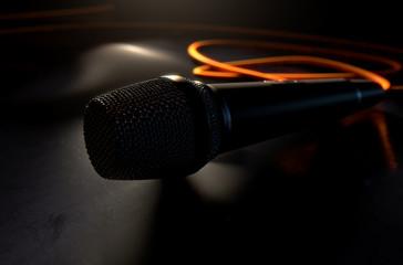 Microphone On The Floor
