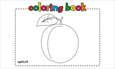 Apricot Coloring Book