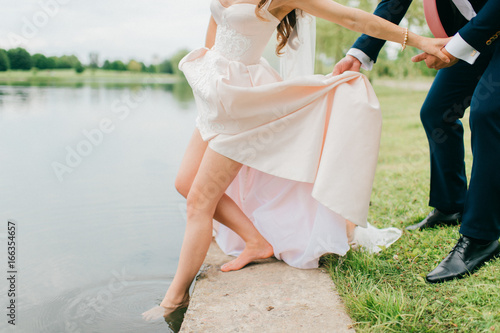 """On Your Wedding Day By Unknown: """"Unrecognizable Bride In Expensive Stylish Wedding Dress"""