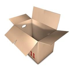 Removal carton