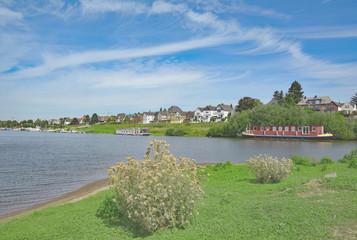 Leverkusen-Hitdorf am Rhein,Nordrhein-Westfalen,Deutschland