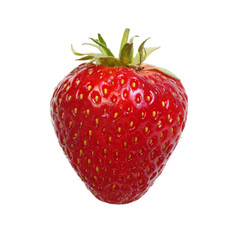 Strawberry isolated on white background.