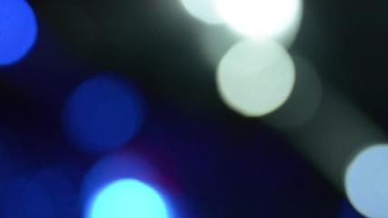 014 Bright Flashing Strobe Lights Motion Background