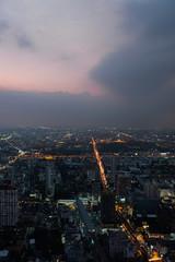 Twilight over Bangkok