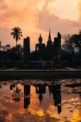 Historic Town of Sukhothai, Thailand.