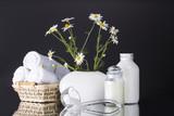 white vase towel 2560x1440 - photo #39