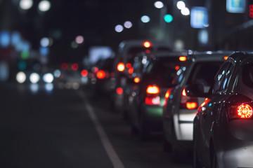 street, cars, city atmosphere