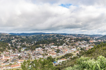 Campos do Jordao, Brazil. View from Elephant's hill