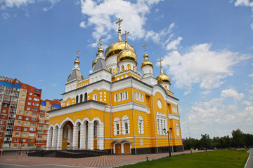 The Church of Cyril and Methodius in Saransk
