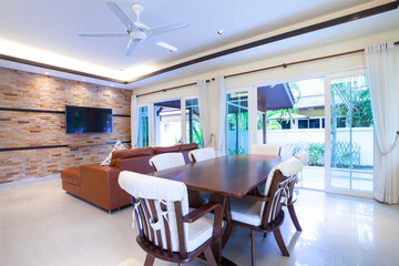 luxury interior design of living room
