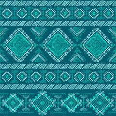 Tribal Aztec vintage seamless pattern