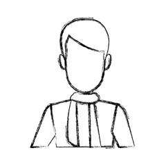 business man suit portrait manager employee or entrepreneur person