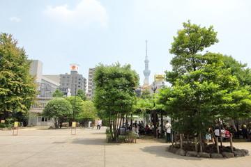 浅草、スカイツリー