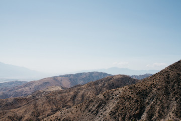 views from joshua tree national park