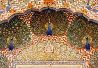 At city palace in jaipur