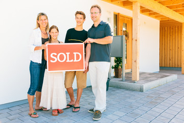 Family Selling Their House