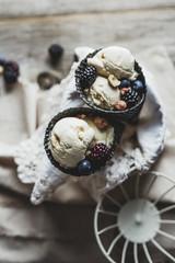 Macadamia nut ice cream