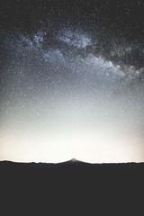 Mt. Hood Under Milky Way Galaxy