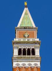 Fototapete - Venice - St Marks Campanile closeup