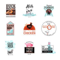 Food Logo Set