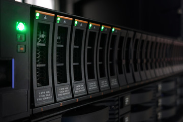 storage in server room