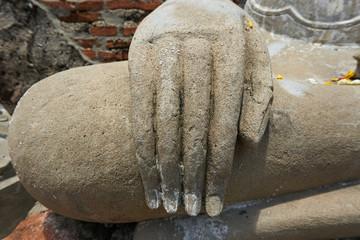 Hand of Buddha image/statue