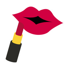 female lips icon image