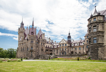 The Moszna Castle is a historic palace located in a small village in Moszna is one of the best known monuments in Upper Silesia.