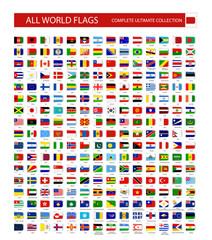 All World Vector Flags