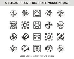 Geometric Element Abstract Set
