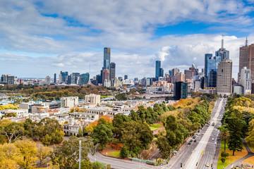 Melbourne, Australia cityscape