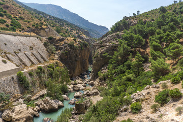 Caminito del Rey - El Chorro - Königsschlucht in Andalusien Spanien Malaga Benalmadena