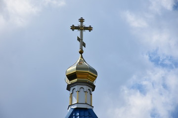 Cross the dome church ,.