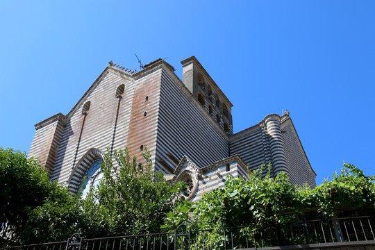 Ruckansicht des Orvieto Doms