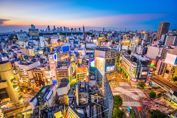 Shibuya, Tokyo, Japan Cityscape