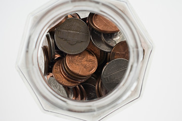 Jar of coins