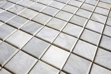 square marble pavement background