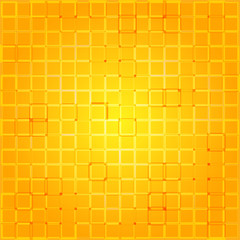 Polygonal shining background base on squares. Modern geometrical abstract seamless pattern