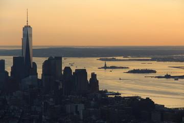 Couché de soleil New York 2