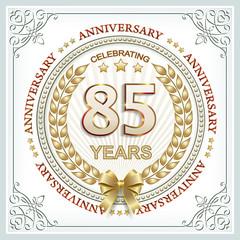 85 years anniversary
