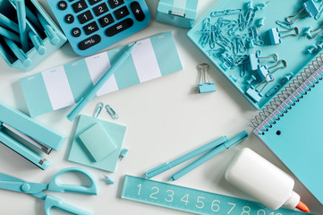 Blue School and Office Supplies