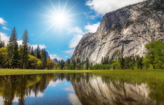 Sunny Yosemite