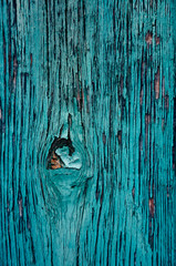 Wood texture background. Old wood painted in blue