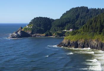 Heceta Head Lighthouse Oregon Pacific Coast