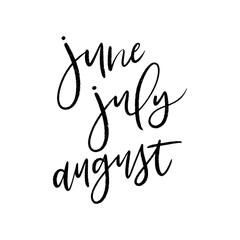 kbecca_vector_brush_lettering_june_july_august_months