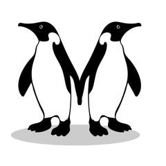 Penguin friendship symbol loyalty