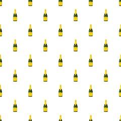 Champagne bottle pattern